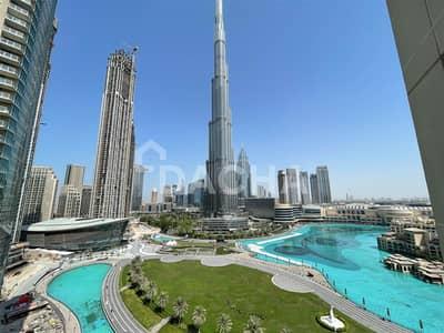 Stunning  Burj view / Balcony / Unfurnished