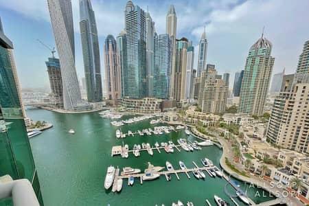شقة 2 غرفة نوم للبيع في دبي مارينا، دبي - 2 Bed+Maids+Srtudy | Marina Views | Vacant