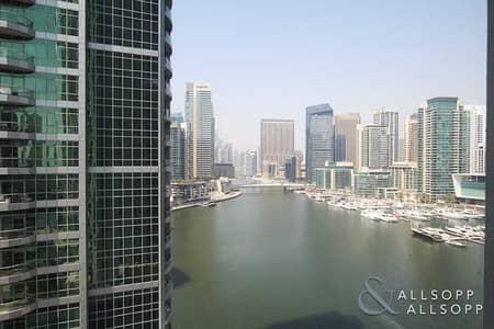 شقة 1 غرفة نوم للبيع في دبي مارينا، دبي - Water View | One Bed | Vacant On Transfer