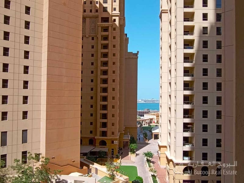 30 Exclusive Large 1 Bed + Storage | Partial Sea View