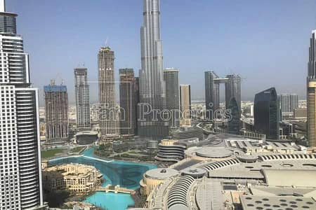 2 Bedroom Apartment for Rent in Downtown Dubai, Dubai - High-floor apt with bills included fountain view!