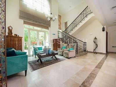 4 Bedroom Villa for Rent in Jumeirah Islands, Dubai - VACANT 4BR Plus Study Garden Hall Villa with Pool