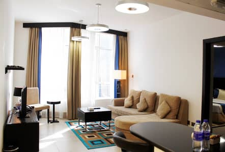 1 Bedroom Hotel Apartment for Rent in Al Nahyan, Abu Dhabi - Standard One-Bedroom Apartments @ Al Diar Sawa Hotel Apartments