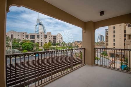 فلیٹ 2 غرفة نوم للايجار في أم سقیم، دبي - 2BR   Biggest layout   Burj Al Arab View
