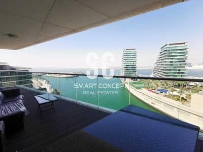 فلیٹ 3 غرف نوم للايجار في شاطئ الراحة، أبوظبي - Negotiable Price Luxury Deal 3BR+Maid W/ Stunning Sea View