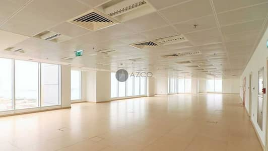 Office for Rent in Dubai Marina, Dubai - DEWA and Chiller Free | Fully -served Office Space