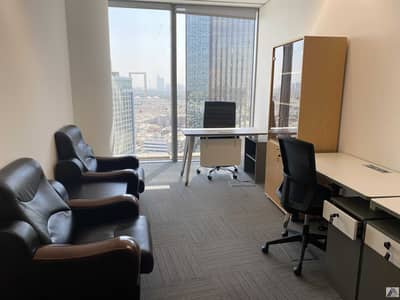Office for Rent in Bur Dubai, Dubai - Furnished Office / No Commission / Free DEWA and Internet with conference room facility