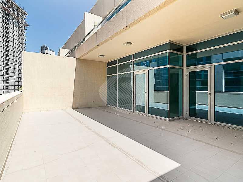 2 Spacious Terrace | Secure Building | Vacant
