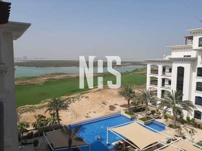 شقة 2 غرفة نوم للايجار في جزيرة ياس، أبوظبي - شقة جاهزة للعيش فيها | بأطلالة الجولف والمسبح .