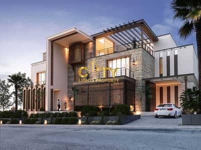 8 Bedroom Villa for Sale in Shakhbout City (Khalifa City B), Abu Dhabi - Under Construction Villa with 8 Master Bedroom | For Sale