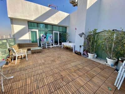 بنتهاوس 3 غرف نوم للبيع في قرية جميرا الدائرية، دبي - Luxurious & Elegant Finishes   3 Bedroom + Maids Room + 3 Balconies + A Massive Terrace Duplex Penthouse!!!