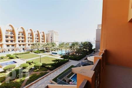 فلیٹ 1 غرفة نوم للايجار في نخلة جميرا، دبي - Unfurnished | Full Sea Views | Modern |