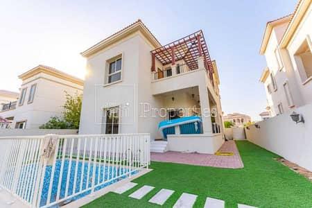 4 Bedroom Villa for Sale in The Villa, Dubai - New Park Facing 4BR w/Elevator+Pool