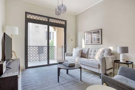 فلیٹ 1 غرفة نوم للايجار في المدينة القديمة، دبي - Yansoon Apartment III