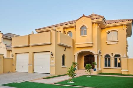 فیلا 5 غرف نوم للايجار في نخلة جميرا، دبي - Villa