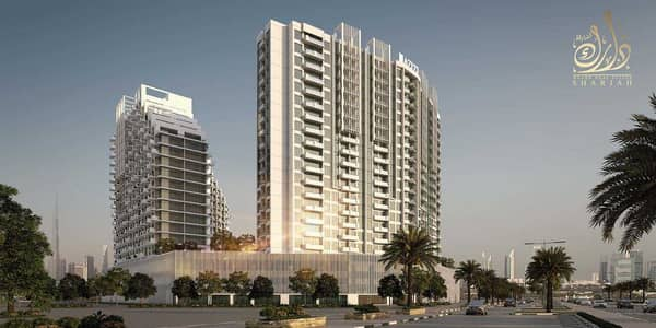 1 Bedroom Apartment for Sale in Al Jaddaf, Dubai - With a stunning  view of the Burj Khalifa for only 225,600 dirhams, own your unit in Dubai Medical City.