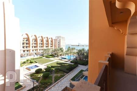 شقة 1 غرفة نوم للايجار في نخلة جميرا، دبي - Unfurnished | Full Sea Views | Modern |