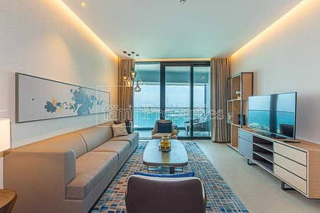 2 Bedroom Flat for Rent in Jumeirah Beach Residence (JBR), Dubai - Fully Serviced - Type S2C - Full Sea View