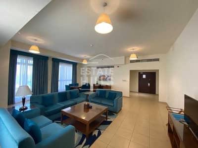 شقة فندقية 3 غرف نوم للايجار في جميرا بيتش ريزيدنس، دبي - شقة فندقية في امواج 2 أمواج جميرا بيتش ريزيدنس 3 غرف 245000 درهم - 5433984