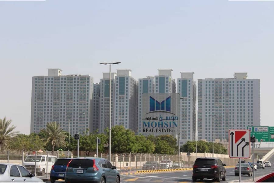Best Deal : 1BHK  With Open View Available for Sale in City Towers Ajman