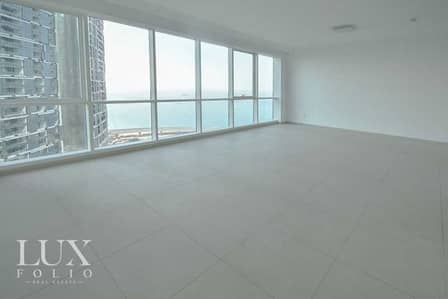 فلیٹ 2 غرفة نوم للايجار في جميرا بيتش ريزيدنس، دبي - Sea Views | 2 Bedroom Apartment | Unfurnished