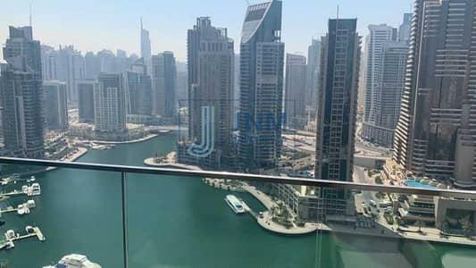1 Bedroom Flat for Rent in Dubai Marina, Dubai - High Floor | Marina View | Premium Finishing