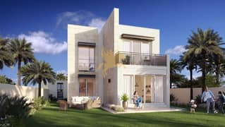 Spacious 4-Bed Ready Standalone Villa/4% DLD waiver/3 years Post-Handover Payment plan