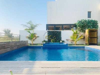 4 Bedroom Villa for Sale in Yas Island, Abu Dhabi - Fabulous  FULLY FURNISHED VIP VILLA With Golf Front view