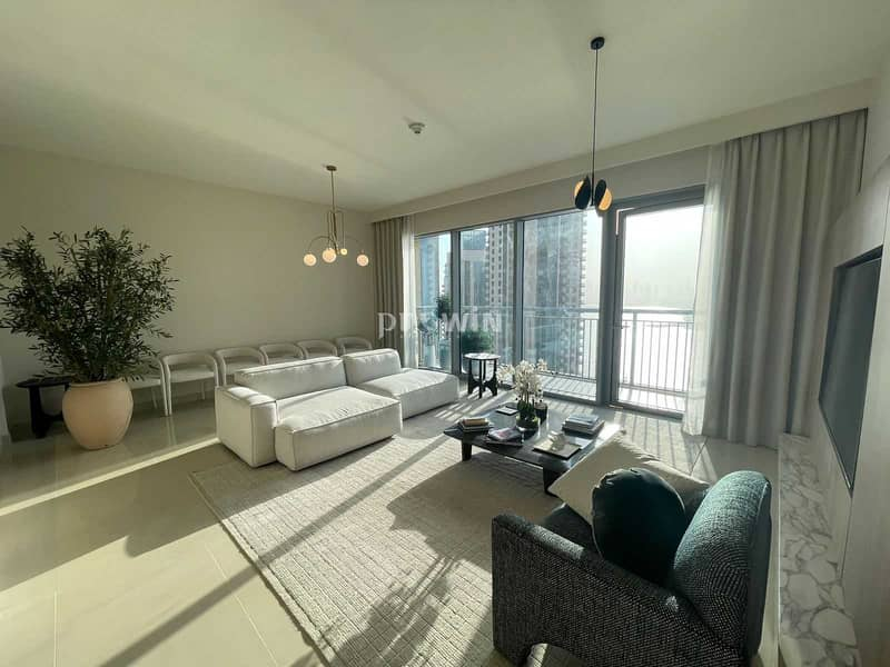 3 years Post  Handover Payment Plans | Pay 25 % and Move in   | Harbour View |  3 Bed Plus Maids  !!!