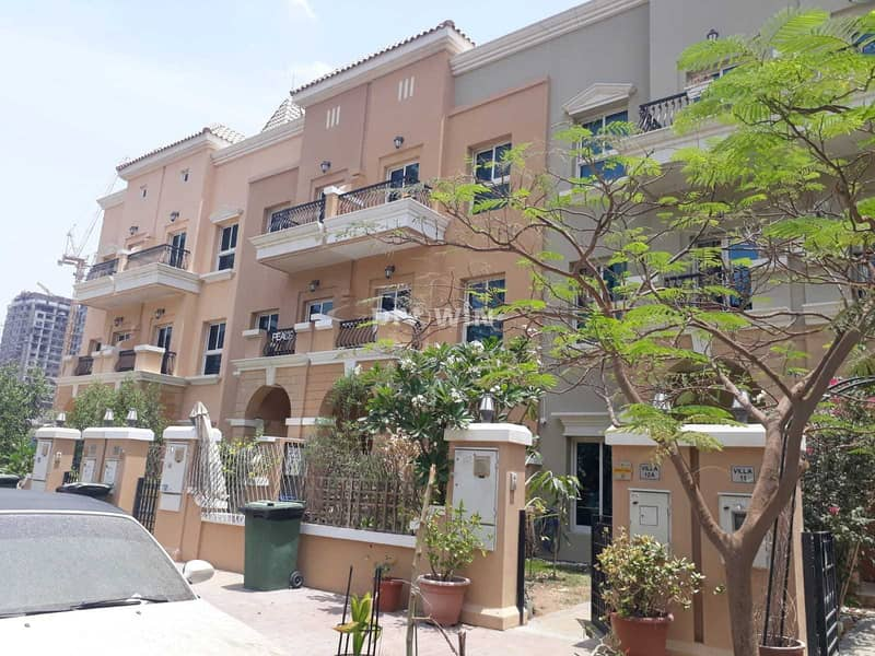 Spacious & Beautiful Thee Bed Townhouse   Best In Design   JVC !!!