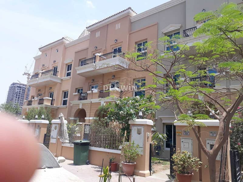 19 Spacious & Beautiful Thee Bed Townhouse   Best In Design   JVC !!!