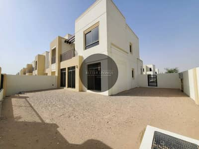 4 Bedroom Villa for Rent in Town Square, Dubai - 4 BEDROOM + MAID'S   TYPE 4   CORNER UNIT