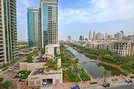 شقة 2 غرفة نوم للبيع في ذا فيوز، دبي - Large 2 Bedroom   The Views   Full Canal View