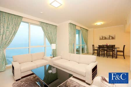 2 Bedroom Flat for Sale in Jumeirah Beach Residence (JBR), Dubai - 2BR+Maids | High Floor | Sea View | Unfurnished
