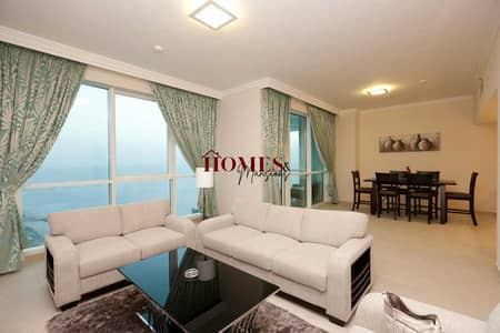 Apartment for rent| Direct beach access| With appliances| 2bd + maid room