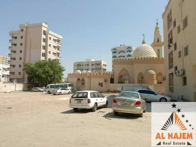 Plot for Sale in Liwara 1, Ajman - Selling residential commercial land G+3 behind the mosque in Liwara area in Ajman freehold for all nationalities