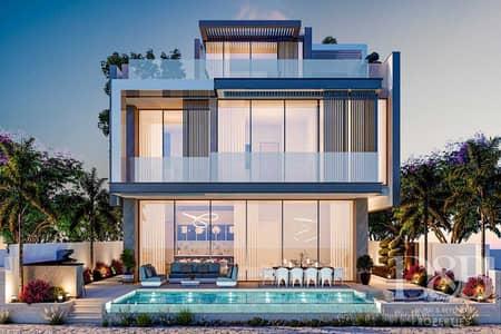 ارض سكنية  للبيع في نخلة جميرا، دبي - Exclusive   Garden Plot   Marina Skyline View