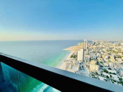 1 Bedroom Apartment for Sale in Corniche Ajman, Ajman - Sea View I Specious I High Floor I w/Parking