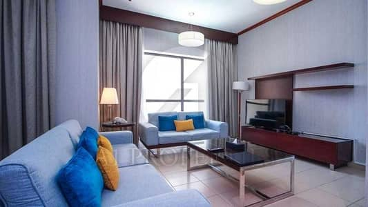 2 Bedroom Hotel Apartment for Rent in Jumeirah Beach Residence (JBR), Dubai - Fully Furnished | No Commission | Sea View