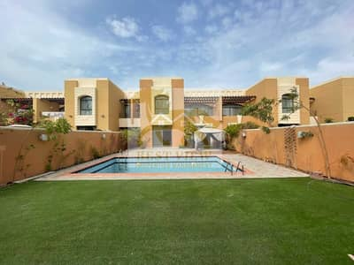 5 Bedroom Villa for Rent in Abu Dhabi Gate City (Officers City), Abu Dhabi - Spacious Villa 5 Bedrooms with Swimming pool in Mangrove