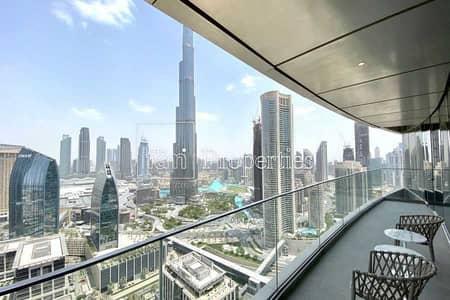 2 Bedroom Apartment for Rent in Downtown Dubai, Dubai - Luxurious apt | Including Dewa | Burj View