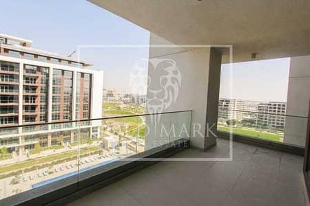 فلیٹ 2 غرفة نوم للبيع في دبي هيلز استيت، دبي - Pool and Park View | Extended Terrace | Available