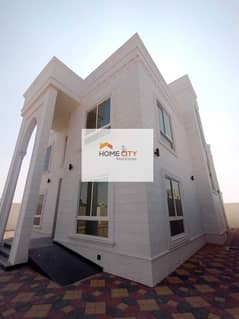 Villa for rent in the city of Riyadh, south of Al Shamkha, in a privileged location in the first basins - the first inha