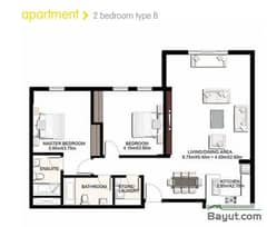 2 Bedroom Apartment Type B
