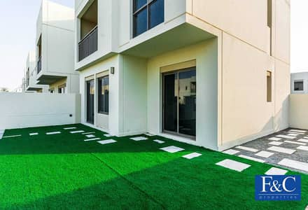 4 Bedroom Townhouse for Sale in Town Square, Dubai - Corner Unit | Next To The Park | Single Row