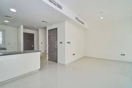 3 Bedroom Townhouse for Sale in DAMAC Hills 2 (Akoya Oxygen), Dubai - Vacant Single Row Desert View Middle Unit