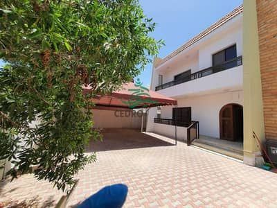 3 Bedroom Villa for Rent in Al Karamah, Abu Dhabi - Charming and clean Three Bedrooms Villa with garden and BBQ aria