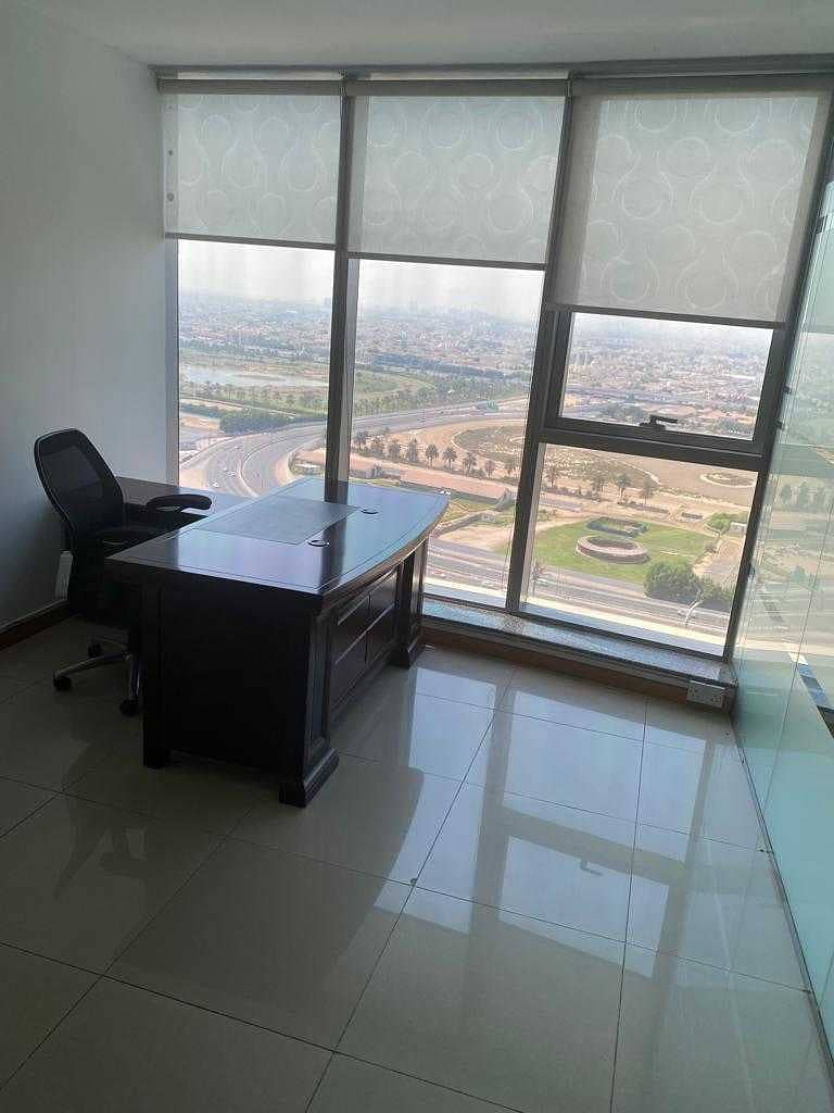 Fully furnished - high floor - business bay view