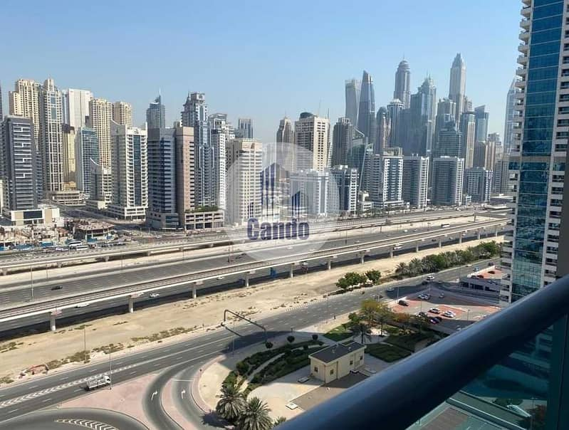 Big Balcony 1 Bed Apartment For Sale With and Marina View