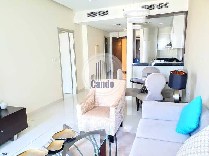 Fully Furnished 1 Bedroom with Parking in Tenora by Damac